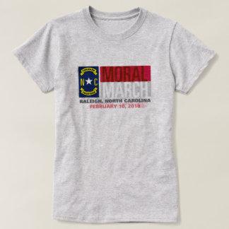 道徳的な2018年3月ローリー Tシャツ