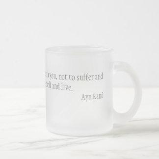 道徳 フロストグラスマグカップ