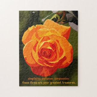 道教の花のパズルの3つの宝物 ジグソーパズル
