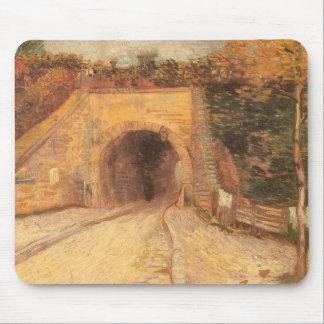 道路の地下道、フィンセント・ファン・ゴッホ著陸橋 マウスパッド