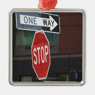 道路標識 メタルオーナメント