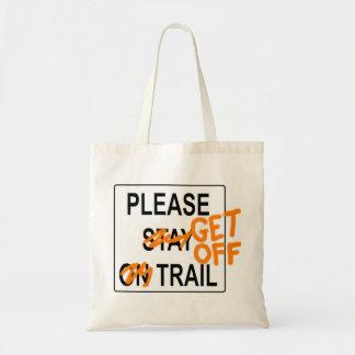 道-トートバックを離れて得て下さい トートバッグ