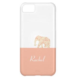 道(ピンクのドラゴン)の象 iPhone5Cケース