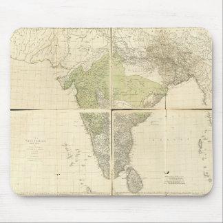 道(1768年)との東のインディの地図 マウスパッド