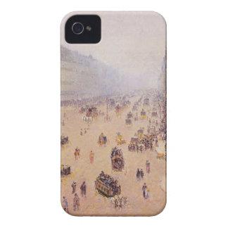 道de l'Opera、霧深いPlace du Thretre Francais Case-Mate iPhone 4 ケース