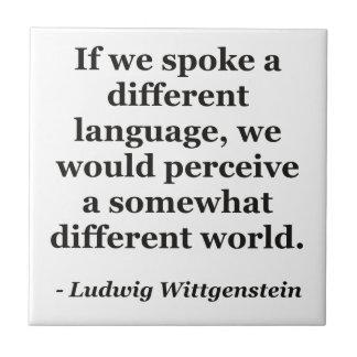 違うな言語違うな世界の引用文 タイル