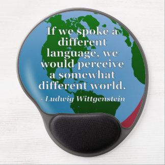 違うな言語違うな世界の引用文。 地球 ジェルマウスパッド