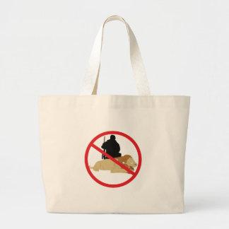 違法の狩り ラージトートバッグ