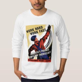違法盗聴 Tシャツ