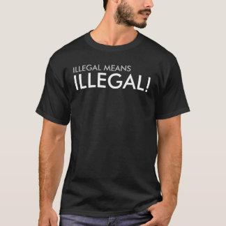 違法違法平均! Tシャツ