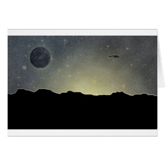 遠い惑星の夜明け カード