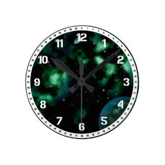 遠い星雲 ラウンド壁時計
