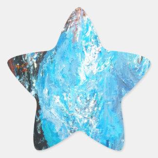 遠い記憶(抽象的な象徴性) 星シール