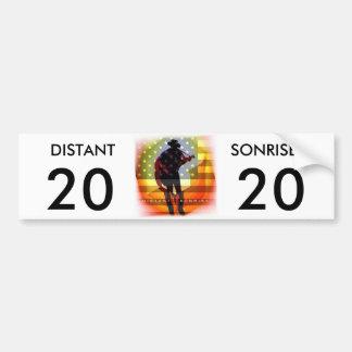 遠いSonrise 20/20の自由な駐車バンパーステッカー バンパーステッカー