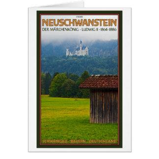 遠くからのFüssen - Schloßノイシュヴァンシュタイン城 カード