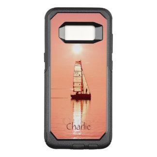 遠くにでカスタムなモノグラムの電話箱の航海 オッターボックスコミューターSamsung GALAXY S8 ケース