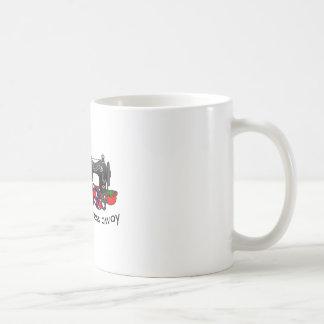 遠くになストレス コーヒーマグカップ