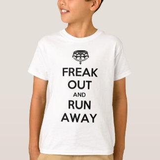 遠くにな操業を続けていくために保ちます平静をひどく神経質にして下さい Tシャツ