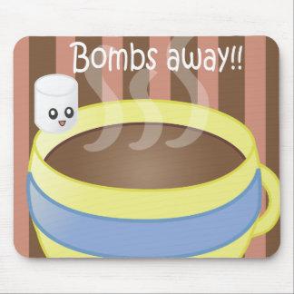 遠くにな爆弾-マシュマロおよびコーヒー マウスパッド