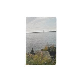 遠くにな航海 ポケットMoleskineノートブック