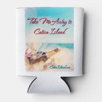 遠くになCaticaの島の飲み物Cozieに私を連れて行って下さい 缶クーラー
