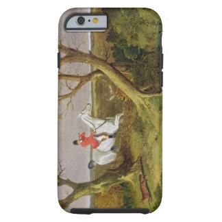 遠くにに行くサフォークの狩り- (キャンバスの油) iPhone 6 タフケース