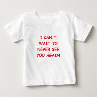 遠くにに行って下さい ベビーTシャツ