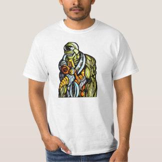 遠ざけられたロボティックカメ Tシャツ