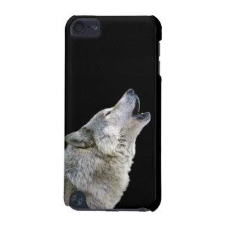 遠ぼえのオオカミの美しい写真のポートレート、ギフト iPod TOUCH 5G ケース