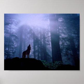 遠ぼえのオオカミ ポスター