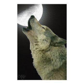 遠ぼえのオオカミ 便箋