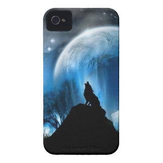 遠ぼえのオオカミ Case-Mate iPhone 4 ケース