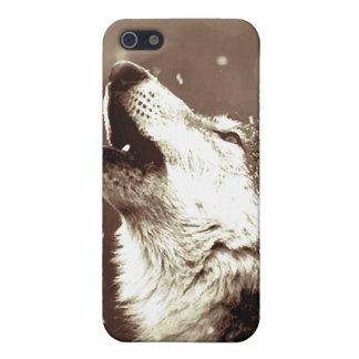 遠ぼえのオオカミ iPhone 5 COVER