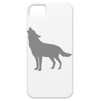 遠ぼえのオオカミ iPhone SE/5/5s ケース