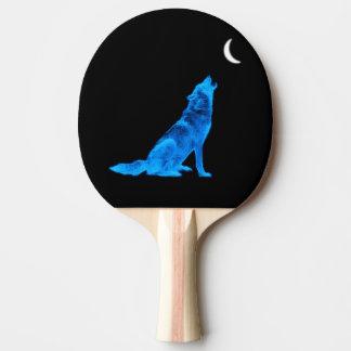 遠ぼえの青いオオカミ 卓球ラケット