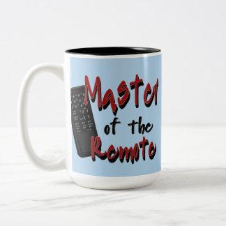 遠隔メンズのユーモアのマグのマスター ツートーンマグカップ