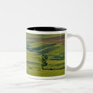 遠隔北東のComertownの砂利の道 ツートーンマグカップ