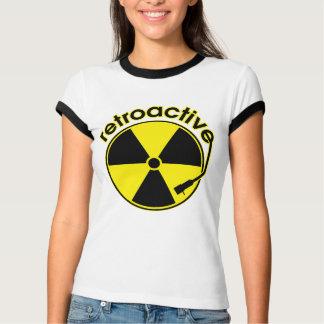 遡及する Tシャツ