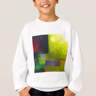 適切な光源(抽象的で軽い表現主義) スウェットシャツ