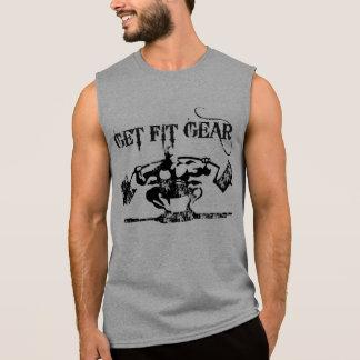 適合のギアを得て下さい 袖なしシャツ