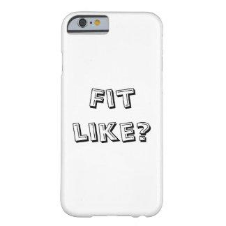 適合は好みますか。 Doric電話カバー- Barely There iPhone 6 ケース