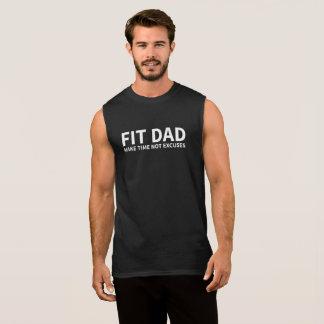適当なパパ 袖なしシャツ