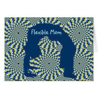 適用範囲が広いお母さんのbagreetingカード カード