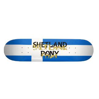 適用範囲が広い子馬-シェトランド諸島 18.1CM オールドスクールスケートボードデッキ