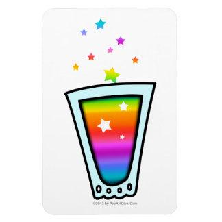 適用範囲が広い磁石-虹の小グラス マグネット