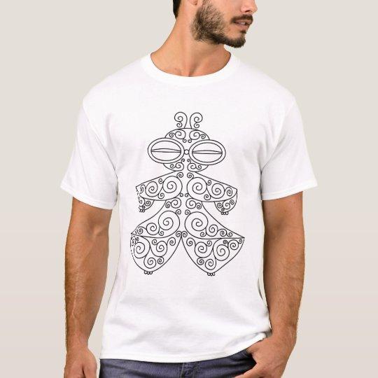 遮光器土偶 Tシャツ