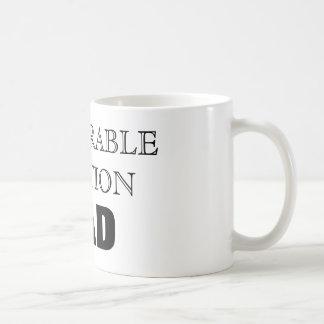選外佳作のパパ コーヒーマグカップ