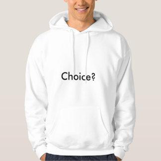 選択か。 フード付きスウェットシャツ パーカ