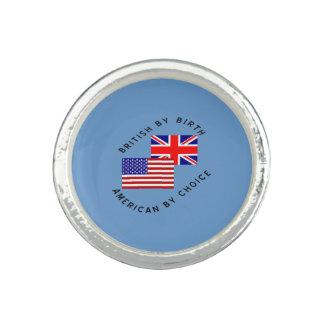 選択による誕生のアメリカ人によるイギリス 指輪