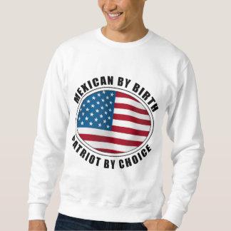 選択による誕生の愛国者によるメキシコ人 スウェットシャツ